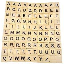 wood scrabble tiles ebay
