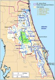 The St Johns River Lies Very Close To East Coast Of Florida Beginning