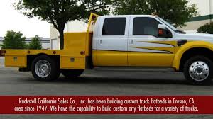 100 Custom Flatbed Trucks Built For In Fresno CA