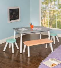 Liggins Kids 4 Piece Play Table And Chair Set