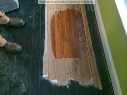 Applying Polyurethane To Hardwood Floors Without Sanding by Refinishing Your Bamboo Flooring Ambient Bamboo Floors