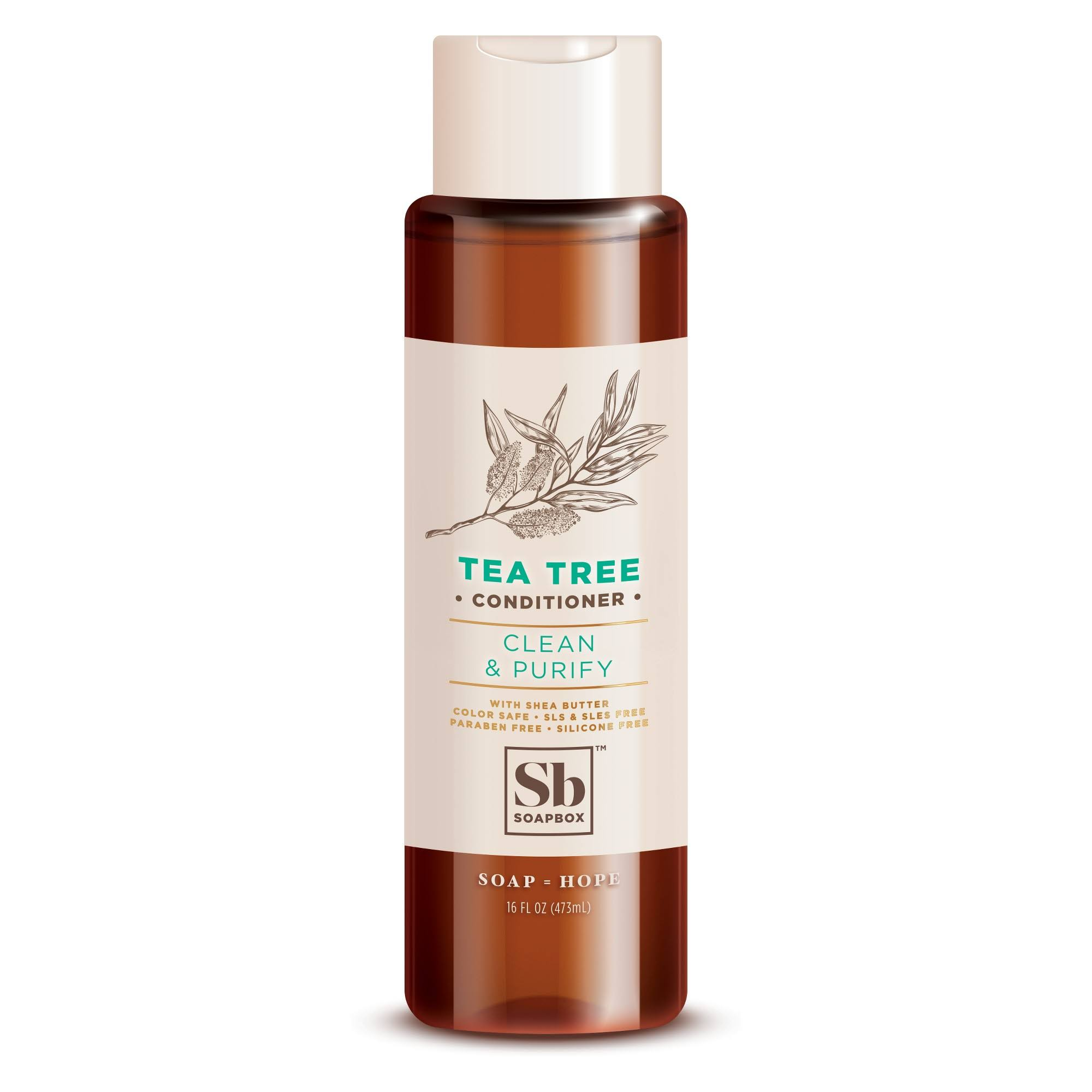 SoapBox Tea Tree Conditioner - 16oz