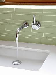 Wall Mounted Faucet Bathroom by Best 25 Wall Mount Faucet Ideas On Pinterest Wall Faucet
