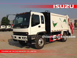 Libya Custom Made 12Cubic FVR Japanese Isuzu Rubbish Compactor ...