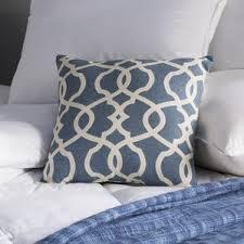Nicole Miller Paisley Throw Pillows by 100 Cotton Decorative Pillows You U0027ll Love Wayfair
