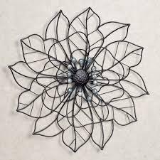 Beauty In Bloom Flower Blossom Metal Wall Art