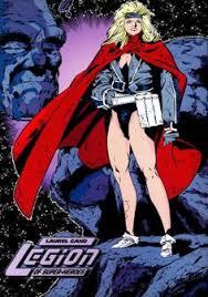 Laurel Gand Was A Daxamite Superheroine And Member Of The Legion Super Heroes
