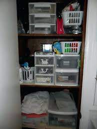 Closet ~ Bathroom Closet Ideas Organization Solution For A Deep ... Bathroom Kitchen Cabinets Fniture Sale Small 20 Amazing Closet Design Ideas Trendecora 40 Open Organization Inspira Spaces 22 Storage Wall Solutions And Shelves Cute Organize Home Decoration The Hidden Heights Height Organizer Shelf Depot Linen Organizers How To Completely Your Happy Housie To Towel Kscraftshack Bathroom Closet Organization Clean Easy Bluegrrygal Curtain Designs Hgtv Organized Anyone Can Have Kelley Nan