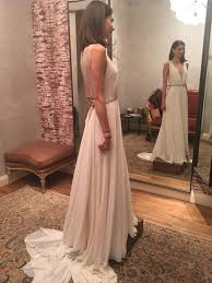 Bhldn Conrad Wedding Dress Shopping in Chicago Pinterest