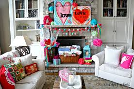 Serendipity Refined Blog Valentines Day Mantel Easy Decorating