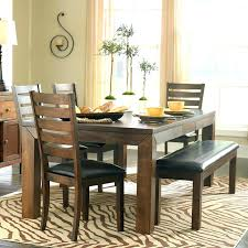 Dining Table And Bench Set With Stunning Seat Room
