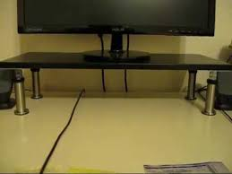 Ikea Laiva Desk Assembly by Ikea Monitor Stand Part 2 Adjusting Capita Leg Height Youtube