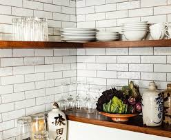 lovely captivating white brick kitchen tiles together with kitchen