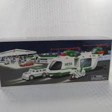 2006 HESS TRUCK - Toy Truck & Helicopter - New In Box - $15.00 ... Amazoncom 1972 Rare Hess Toy Gasoline Oil Truck Toys Games 2016 Dragster Jackies Store And Helicopter 2006 By Shop The Truck Is Here Its A Drag Njcom Parents Teachers Can Use New To Teach Stem Reveals The Mini Collection For 2018 Newsday 2008 Hess Truck And Front Loader New In Box 1500 Release 3 Toy Collections In Mark 85th 2017 Dump 2004 Miniature Tanker