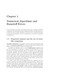 Matlab Ceil To Nearest 10 by Chapter 1 Numerical Algorithms And Roundoff Errors
