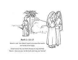 Boaz Coloring Page Pages Ruth Bible