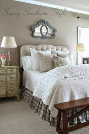 Savvy Southern Style Adding French Farmhouse In The Master Farm BedroomBrown BedroomCountry
