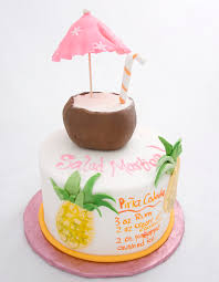 The Crimson Cake Blog Pina Colada Cake