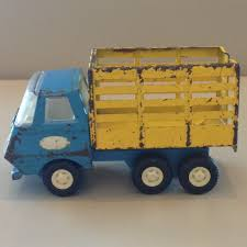 Small Tonka Yellow And Blue Truck...1970's....Laurie's | Toys Of ...