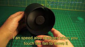 Vornado Zippi Desk Fan by Vh Ultra Quiet Usb Powered Portable Desk Fan Touch Switch With