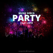 Music Disco Party Poster Free Vector