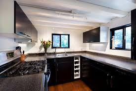 Small Narrow Kitchen Ideas by Top 3 Tiny Kitchen Design Layouts Tinyhousebuild Com