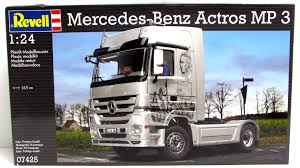 Mercedes-Benz Actros MP 3 Revell #07425 1/24 Scale New Plastic ... Gmc The Crittden Automotive Library 69 Ford F100 Shop Truck Scaledworld Amazoncom Revell 57 Gasser 2in1 Plastic Model Kit Toys Model Jet Semi Custom With Bonus Build Youtube Kenworth Heavy Hauler Stop Cars 125 Revell Kevin Vandams Team Profish Silverado Truck Amigo Pack W900 Wrecker 852510 New Aeromax 120 Kits Hobbydb K100 An Amt Box 125th Finescale Modeler Pin By Roman On Italerirevellamt Trucks 124 Pinterest Modelling News Italeris Catalogue New Items Of 62017 1 25 Scale Peterbilt 359 Cventional Tractor Ebay