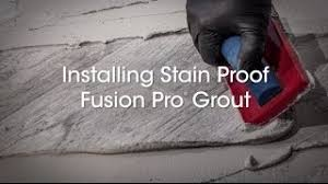 stain resistant grout fusion pro custom building products