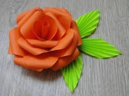 How To DIY Easy Paper Flower 8
