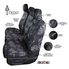 Covercraft Prym1 Camo Custom-Fit Seat Covers For Trucks & SUV's ...