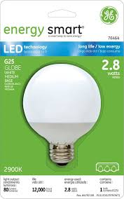 ge lighting 76464 energy smart led 2 8 watt 15 watt replacement