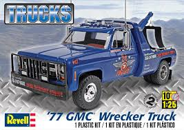 Revell-Monogram Revell 1:25 Scale '77 GMC Wrecker Truck Model Kit ... Gmc The Crittden Automotive Library 69 Ford F100 Shop Truck Scaledworld Amazoncom Revell 57 Gasser 2in1 Plastic Model Kit Toys Model Jet Semi Custom With Bonus Build Youtube Kenworth Heavy Hauler Stop Cars 125 Revell Kevin Vandams Team Profish Silverado Truck Amigo Pack W900 Wrecker 852510 New Aeromax 120 Kits Hobbydb K100 An Amt Box 125th Finescale Modeler Pin By Roman On Italerirevellamt Trucks 124 Pinterest Modelling News Italeris Catalogue New Items Of 62017 1 25 Scale Peterbilt 359 Cventional Tractor Ebay