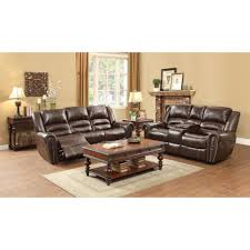 Rana Furniture Living Room by 1 771 00 Center Hill Reclining Sofa Set Dark Brown D2d