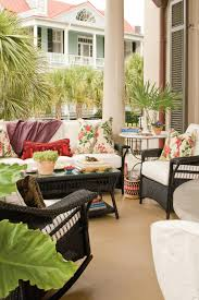 Semi Circle Patio Furniture by Porch And Patio Design Inspiration Southern Living