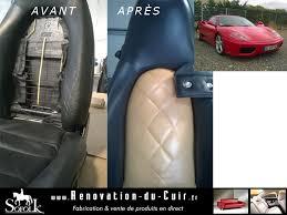reparation siege cuir auto pâte réparatrice sièges auto cuir sofolk