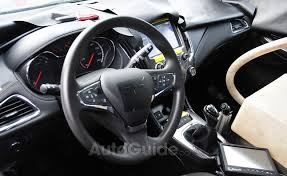 2015 Chevrolet Cruze Interior Revealed in Spy s  AutoGuide