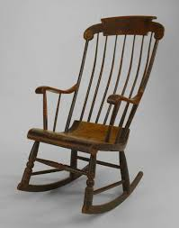 American Country (1st ¼ 19th Cent) Hitchcock Style Rocking Chair ... Calabash Wood Rocking Chair No 467srta Dixie Seating Vintage Ercol Style Spindle Back Ding Chairs In Black Fniture Replacement Rockers For Shenandoah Valley Rocking Chair With Two Rows Of Spindles On Back Magnolia Home Shop Windsor Arrow Country Free Shipping Inoutdoor White Set The 3pc Linville Assembled Rockersdirectcom 19th Century 564003 Sellingantiquescouk Antique Birchard Hayes Company Inc Of 4 Rush Seat Lancashire Antiques Atlas