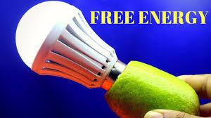 100 free energy free energy light bulbs 220v using lemon light