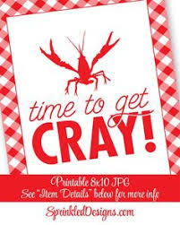 Pinterest Crawfish Boil Decorations by Put Some South In Your Mouth Tm Crawfish By Payitforwardshoppin