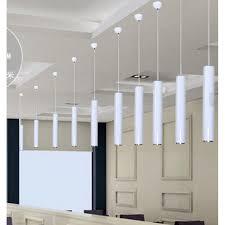 LukLoy Pendant Lamp Lights Kitchen Island Dining Room Shop Bar Counter Decoration Cylinder Pipe