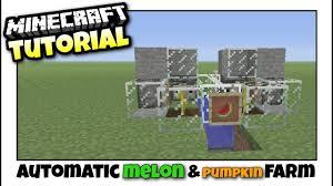 Pumpkin Farm Minecraft Observer minecraft xbox melon u0026 pumpkin farm automatic redstone