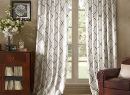 Green Striped Curtain Panels by Refreshing Design Of Start Textured Sheer Curtain Panels