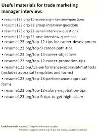 Operations Manager Sample Resume Bank