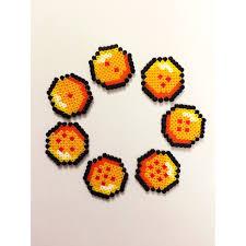 Dragon Ball Z Pumpkin Carving Templates by Dragon Ball Z Balls Mini Hama Bead Perler Creation Pixel Art