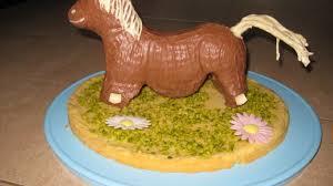 pferd aus der lammform kuchen für den kindergeburtstag