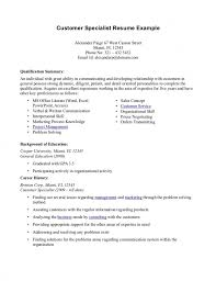 Customer Care Representative Resume Awesome Service With No Experience 6871 Of
