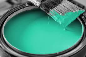 Turquoise Color Paint Room Home Builders Lawn