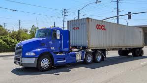 100 New Century Trucking Mack Trucks Displays SecondGeneration PHEV Class 8 Drayage