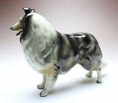 Vintage Retired English Beswick Porcelain Collie Dog Figurine 1791