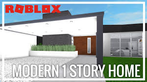 100 Modern One Story House ROBLOX Welcome To Bloxburg Home